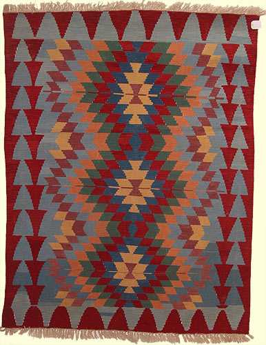 Turkish Ushak Kilim